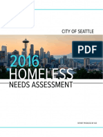 City of Seattle Needs Assesment Report Draft FINAL