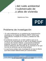 Impacto Del Ruido en Submercados de Vivienda_marzo2017