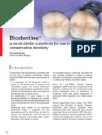 Biodentine Un Nou Substituent Al Dentinei În Pedodontia