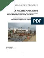 Informe Estructural 28 Ene-27 Feb