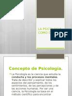 1-La Psicologia Como Ciencia