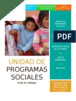 Plan de Trabajo Desarrollo Social Marzo 2017
