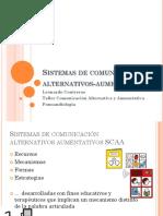 Sistemas de Comunicación Alternativos-Aumentativos Segunda Clase