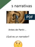 Voces Narrativas_Primero Medio