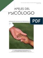 Intervención Psicosocial en Protección a La Infancia