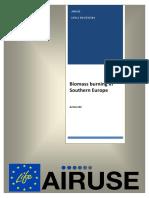 LIFE 2015 Action 08_B4_Biomass Burning Southern Europe