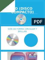 CD Disco Compacto