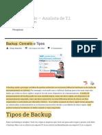 Backup_ Conceito e Tipos - Diego Macêdo - Analista de T