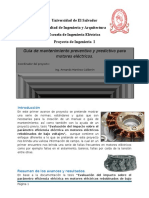 pequeña complilacion de informacion para la creacion de la guia de mantenimiento en maquinas electricas