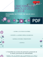 Plan Nacional de Desarrollo 2013-2018 Lucy