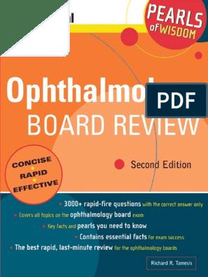 Ophthalmology+Board+Review+Pearls+of+Wisdom | Cornea | Retina