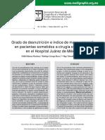 desnutricion y cirugía