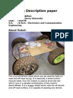Team Description Paper