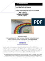 PFLAG April Newsletter 2017