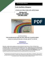 PFLAG April Newsletter 2017