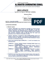 NDCC Situational Report No. 2 on Typhoon BASYANG