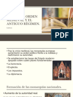 El Fin Del Orden Medieval y El Antiguo 1