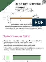 Balok Bernoulli