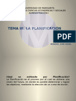 Tema 3 La Planificacion