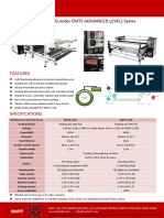 Easty Rotary Heat Press - Eurotec EMTS advanced calender/calandra/calendar