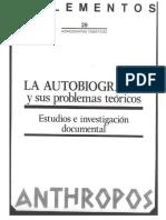 Ángel G. Loureiro, Problemas teóricos de la autobiografía (2).pdf