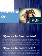 Tolerancia a La Frustracion