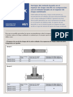 061 TS SSAB Plate Benefits of the Term Single Plate Thickness Compared to the Parameter Combined Plate Thickness in Joints ES
