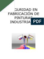 Seguridad en Fabricacion de Pinturas Industriales