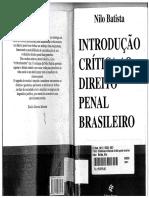 Nilo Batista Introducao Critica Ao Direito Penal Brasileiro 2007
