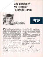 Analysis and Design of Circular Prestressed Concrete Storage Tanks