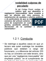 PECULADO IMPRUDENTE, DISTRRACCION, DESFALCO Y neg.incompatible.traficoinfluencias.ppt