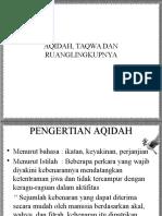 AQIDAH & TAQWA