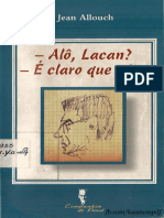 Alô, Lacan É Claro Que Não - Jean Allouch (1)