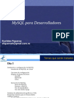 Mysql Developers