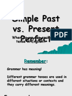 Simple Past vs Present Perfect (2nd) - Copy