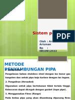 Sistem Pemipaan