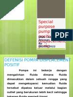 Pompa Displacement Positif