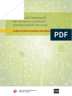 Recovery Framework 2013 Guide Practitioners Providers