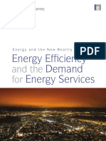 Energy and the New Reality 1 - Energy Efficiency and the Demand for Energy Services