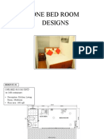 One Bedroom House Designs