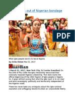 Taking Igbo out of Nigerian bondage.docx