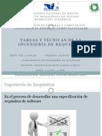 8.1 Tareas y Tecnicas de La Ingenieria de Requisitos