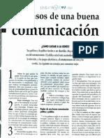 Roberto Izurieta - Los Pasos de Una Buena Comunicacion