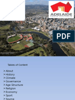Adelaide 's History,Climate, Economy and Religion