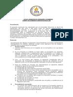 Protocolo Admisión de Bomberos