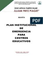 Plan de Riegos-construcción-mapas Jean Piaget