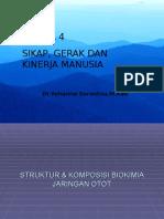 Biokimia Jaringan Otot Integrasi Modul 4
