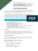 IIHT Cloud Computing Training Course_updated