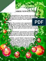 Dec Newsletter Border