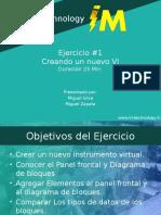 Labview Ejer1 - Creacion de Un VI